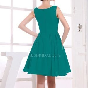 green a line h&m casual dress